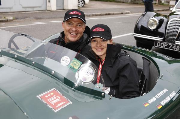 Mille Miglia: Starrummel um Hollywood-Schauspieler Daniel Day Lewis und die vielen VIPs des Jaguar Teams