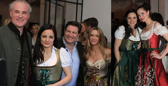 Dresscode Tracht beim 'Tegernseer Tal Bräuhaus'-Opening