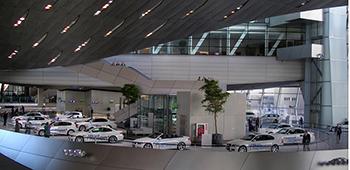 BMW Welt Neuwagen Abholung