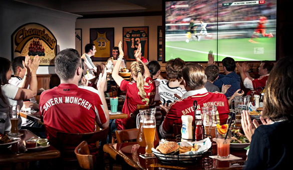 Champions League Public Viewing in München: Die sportlichste Location!