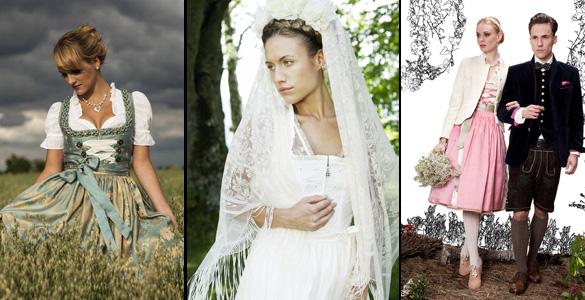 Heiraten in Tracht: Die besten Hochzeits-Dirndl