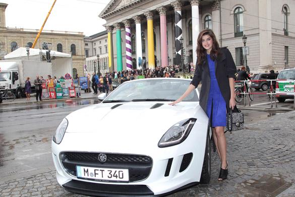 Rallye mit dem neuen Jaguar F-TYPE durch München