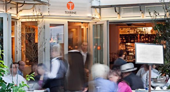 Restaurant Huckebein kommt für Terrine