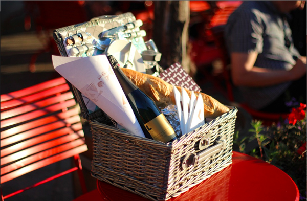 Café Luitpold: Picknicken in the City