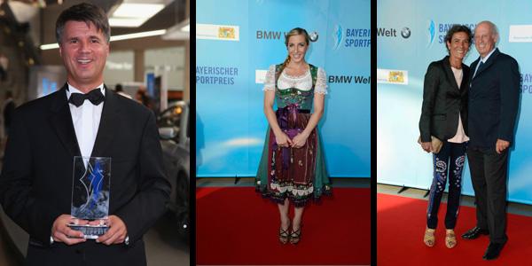 Bayerischer Sportpreis an BMW