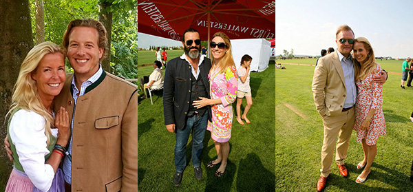 British Polo Days Stationen: Hackett Store, Schloss Wallerstein und Forsthaus Eisbrunn