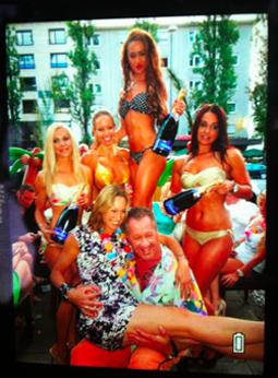Sexy Bikini Party im Bachmaier Hofbräu mit Christine Theiss und Co