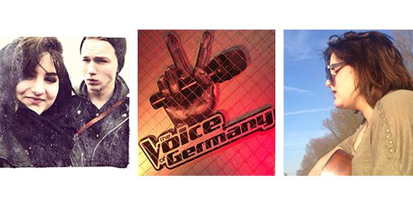 Violeta Kokollari aus München bei 'The Voice of Germany 2013′