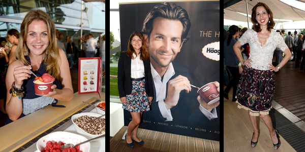 Häagen-Dazs Barbecue & Icecream Party in München: Leider ohne Bradley Cooper