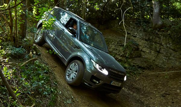 Testfahrt mit dem neuen Range Rover Sport