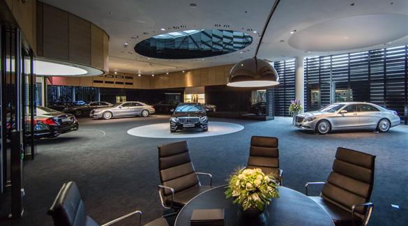 Die neue S-Klasse bei Mercedes