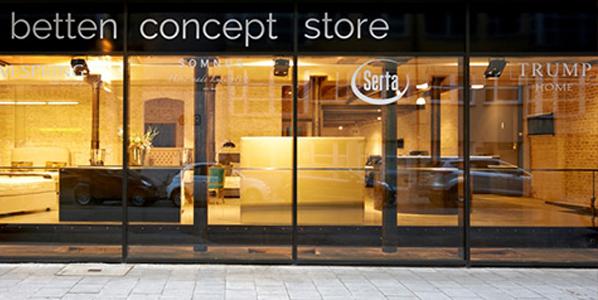 Cocktail anlässlich der Eröffnung des 1. 'Betten Concept Store' in München