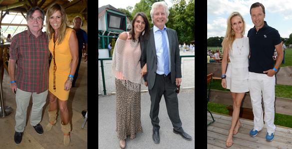 Eagles Charity Golfclub: Stehlten am Renn-Sonntag den Pferden fast die Show