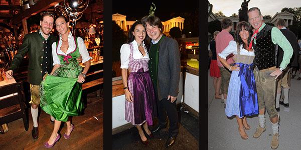 Oktoberfest-Highlight: 15. 'Almauftrieb' in der 'Käfer Wiesn Schänke'