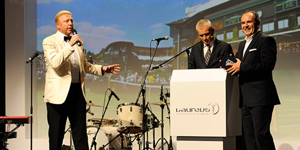 2. Laureus Sport for Good Night: Boris Becker und Co. traten für den guten Zweck in Aktion!