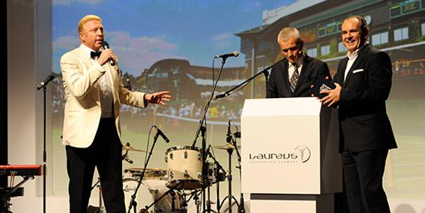 2. Laureus Sport for Good Night: Boris Becker und Co. traten für den guten Zweck in Aktion!