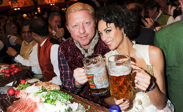 Promis auf der Wiesn: Laureus Sport for Good-Celebrities im Hippodrom