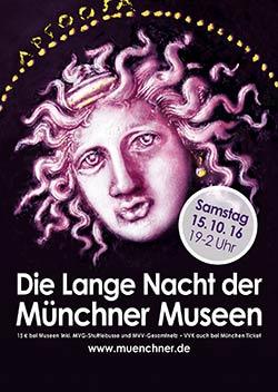 Die Lange Nacht der Münchner Museen 2016 @ Museen und Schlösser