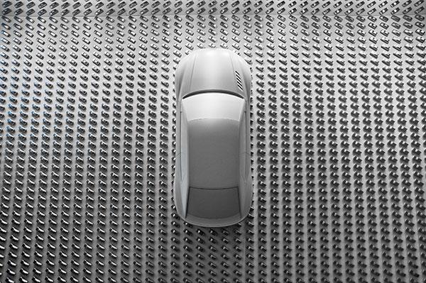 Pinakothek der Moderne: Audi Design Wall als neues Kunstwerk