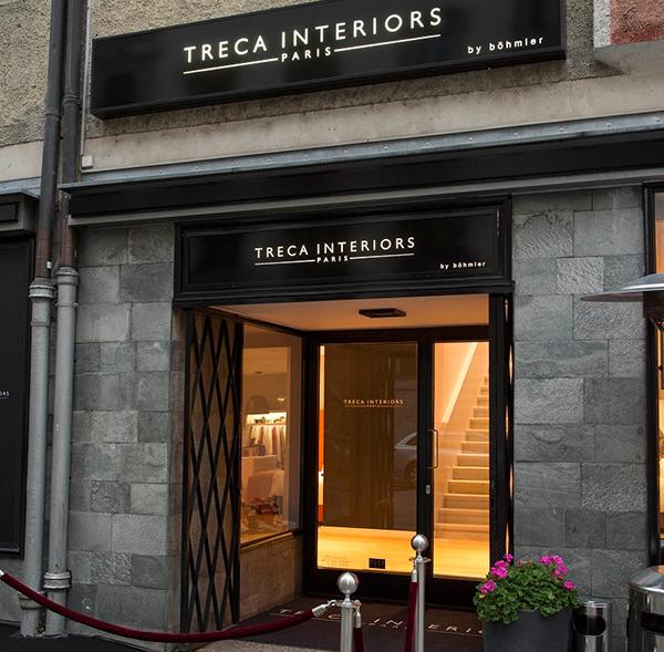 Böhmlers neuer Bettenshop: Erste Boutique Deutschlands mit Treca Interiors Paris