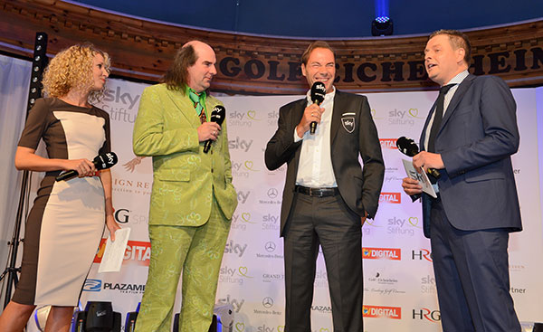 Sky Business Golf Trophy 2013: Spendenrekord beim Benefiz-Golf-Turnier