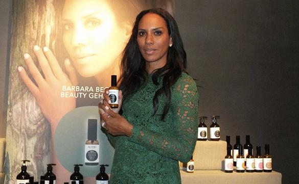 Barbara Beckers Beautygeheimnis in München gelüftet
