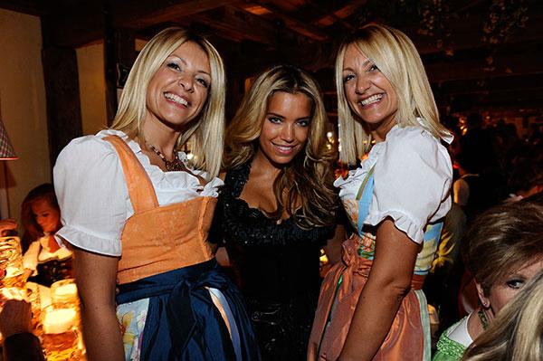 2. Haarwerk Blond Wiesn: Sylvie van der Vaart gab ihr Oktoberfest-Debüt!