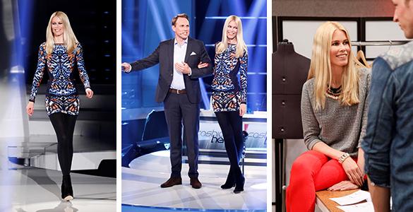 ProSieben Fashion Hero: Claudia Schiffer coacht Designer