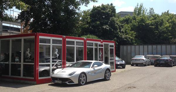 Ferrari in München hat eine neue exklusive Adresse