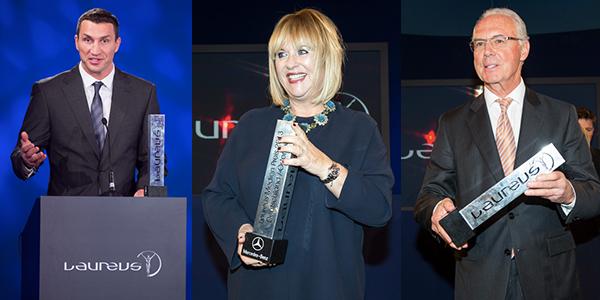 9. Laureus Medien Preis: Ehrenpreis für Bunte-Chefredakteurin Patricia Riekel