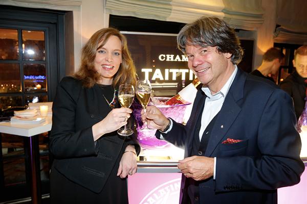 Michael Käfer lud zur Champagner-Sause der Superlative