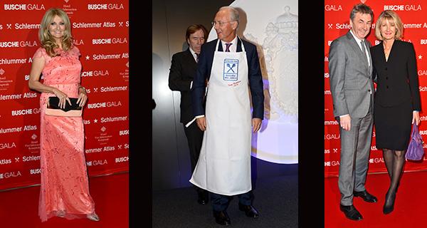 16. BUSCHE GALA im Hotel Vier Jahrszeiten Kempinski in München: Genießer-Preis für Franz Beckenbauer