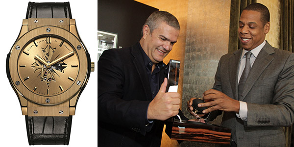 Uhren-Party im P1: Shawn 'Jay Z' Carter by Hublot