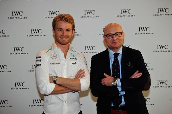 IWC Watchmaking: Formel 1-Star Nico Rosberg tauschte Lenkrad gegen Pinzette