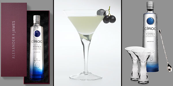 Silvester-Trend 2013/2014: Cîroc Grape-tini! Das Rezept des In-Drinks