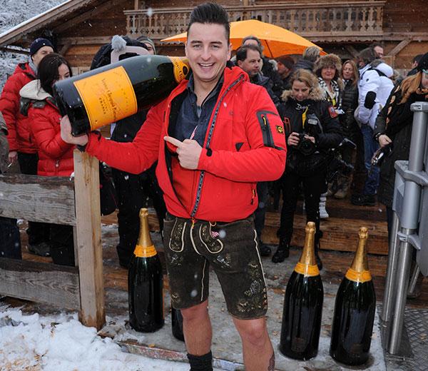 Hahnenkamm-Wochenende: Hier stieg die exklusivste Champagner-Sause