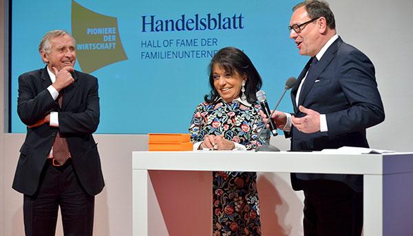 Hall of Fame der Familienunternehmen: Regine und Erich Sixt gehören jetzt dazu