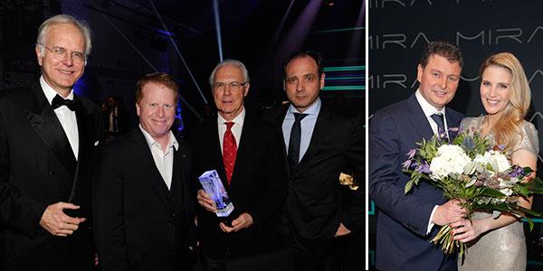 Sky lud zum 5. Mira Award: Ehrenpreis für Franz Beckenbauer