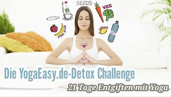 Gute Vorsätze fürs neue Jahr: Exklusive Detox-Challenge mit YogaEasy.de