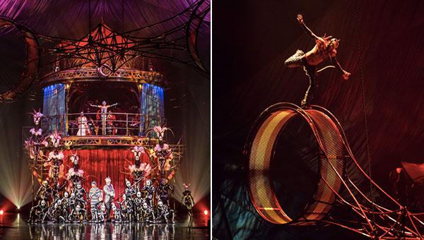 Cirque du Soleil: Traumhafte Weltpremiere in München von 'Kooza'