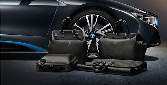 Louis Vuitton designt Taschenkollektion für BMW
