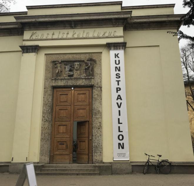 Kunstpavillon im Alter Botanischer Garten