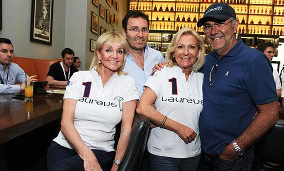 Star-Treffen in Kuala Lumpur: Münchner VIPs beim Laureus World Sports Awards