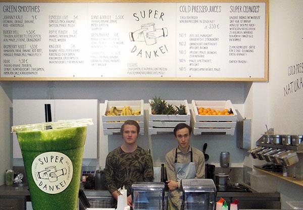 Smoothie-Mania in Schwabing: 'Super Danke' ist die exklusivste Saftbar