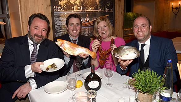 Fish and Friends im Seehaus: Promi-Startschuss für die traditionelle Fischwoche
