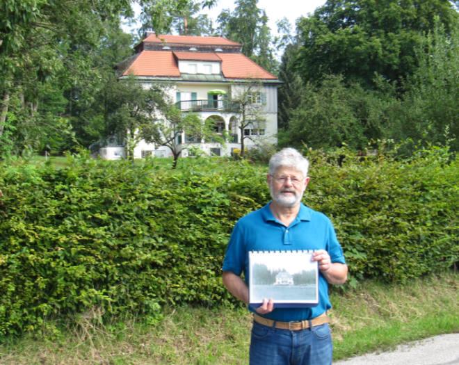 Martin Hake wuchs neben der Thomas-Mann-Villa auf und kennt viele Spielplätze der Mann-Kinder aus der eigenen Kindheit. Foto: Privat aus Bad Tölz