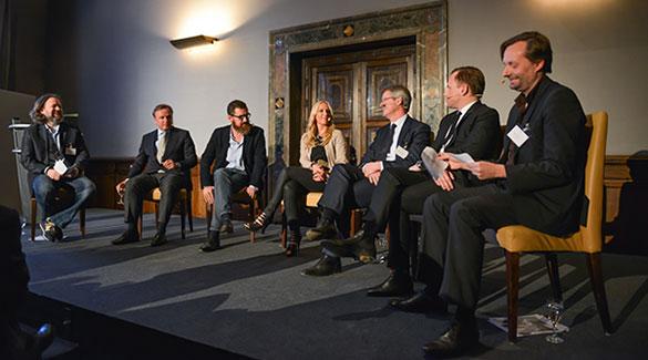 Medien-VIPs auf der VZB-Jahrestagung