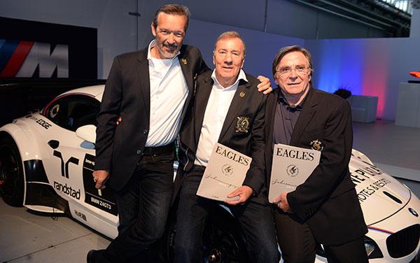Eagles Charity Golfclub: Golfmagazin-Präsentation zwischen M4 Coupe und Laserlicht