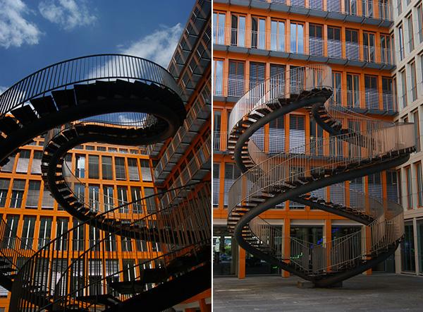 Die endlose Treppe - fast unbekannte Kunst in München 2