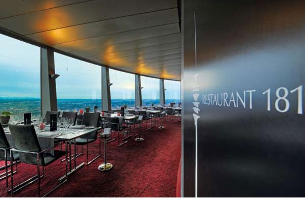 181 Restaurant im Olympiaturm
